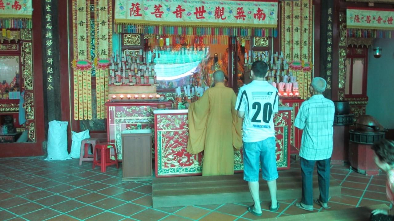 Buddhist Temple in Malaysia