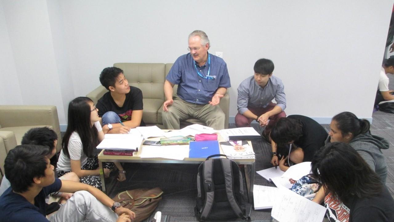 Dr. Brian Wilson at Sunway University