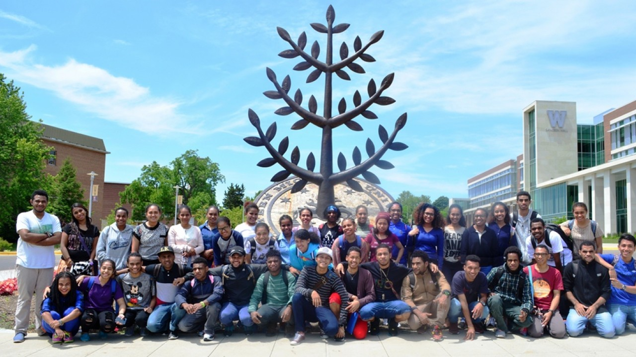 WMU students from Papua-Indonesia