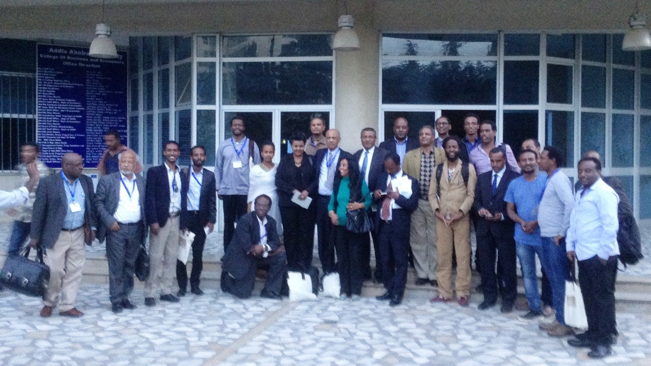Participants at the 9th International Conference on African Development in Ethiopia