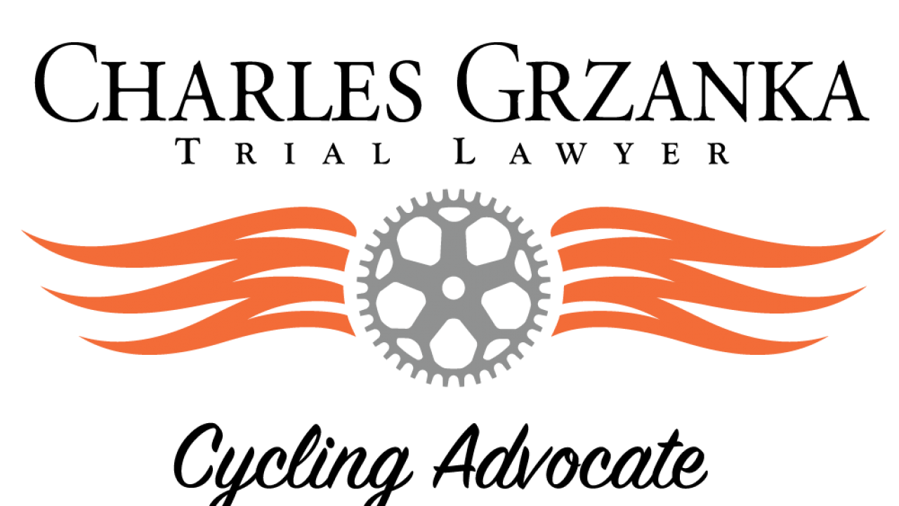 Charles Grzanka Trial Lawyer CyclingLawyer.com logo