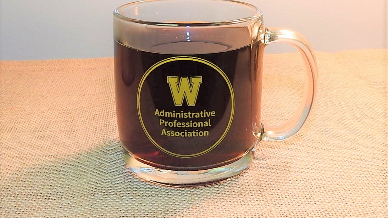 Administrative Professional Association coffee cup