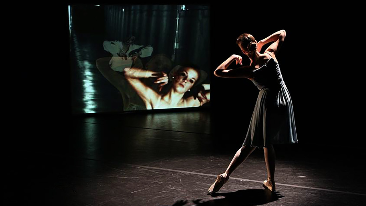 Student works on Dance for Camera project