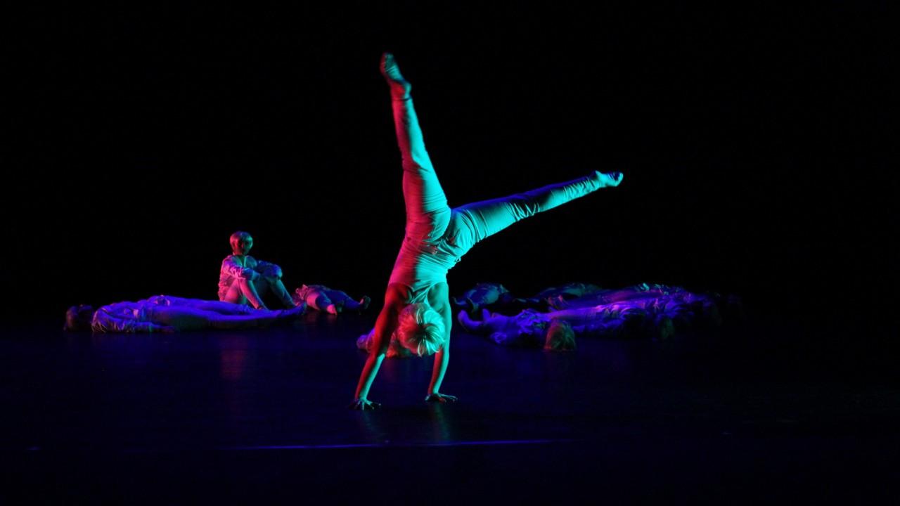 "a photo of ""HAUNT"" choreographed by Brendan Duggan"