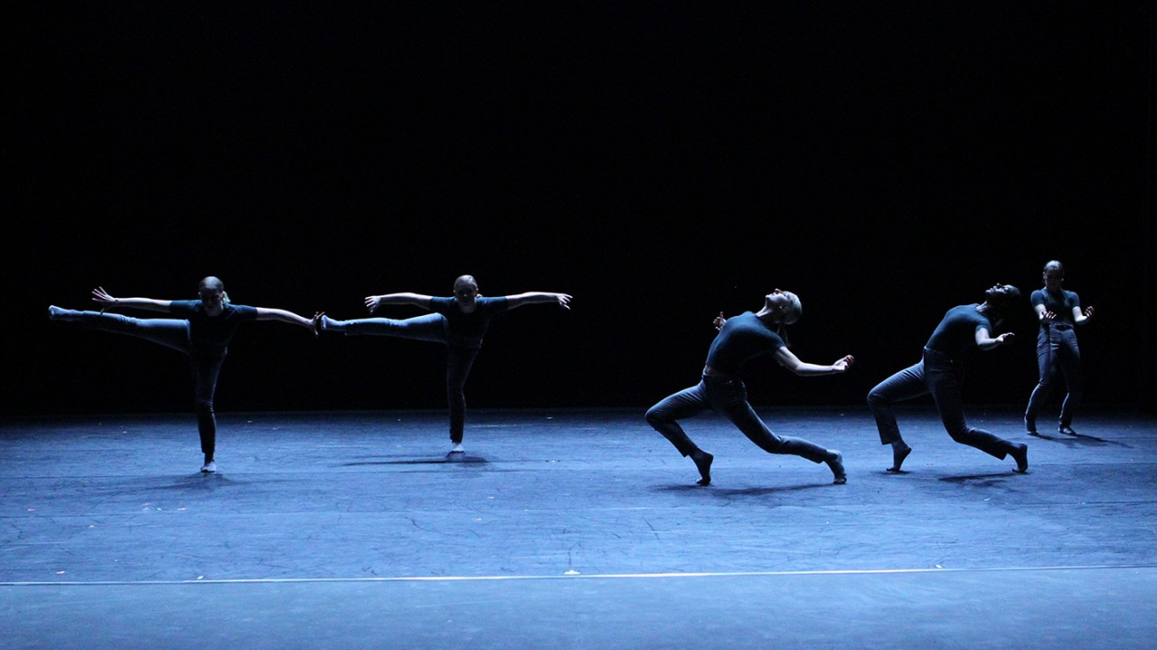 """Threshold"" choreographed by Christian Denice for Western Dance Project"