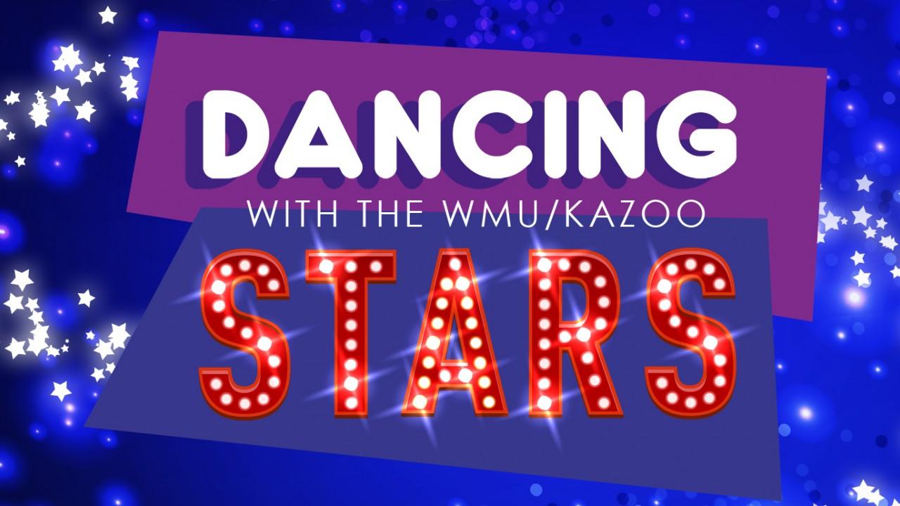 Dancing with the WMU/Kazoo Stars Logo