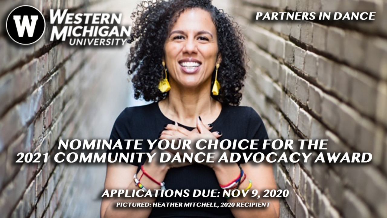 Nominate Your Choice for the Community Dance Advocacy Award