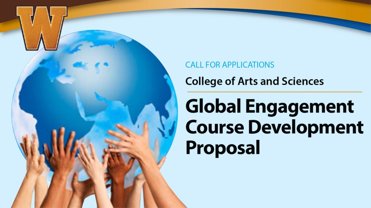 Faculty invted to submit global engagement course development proposals.