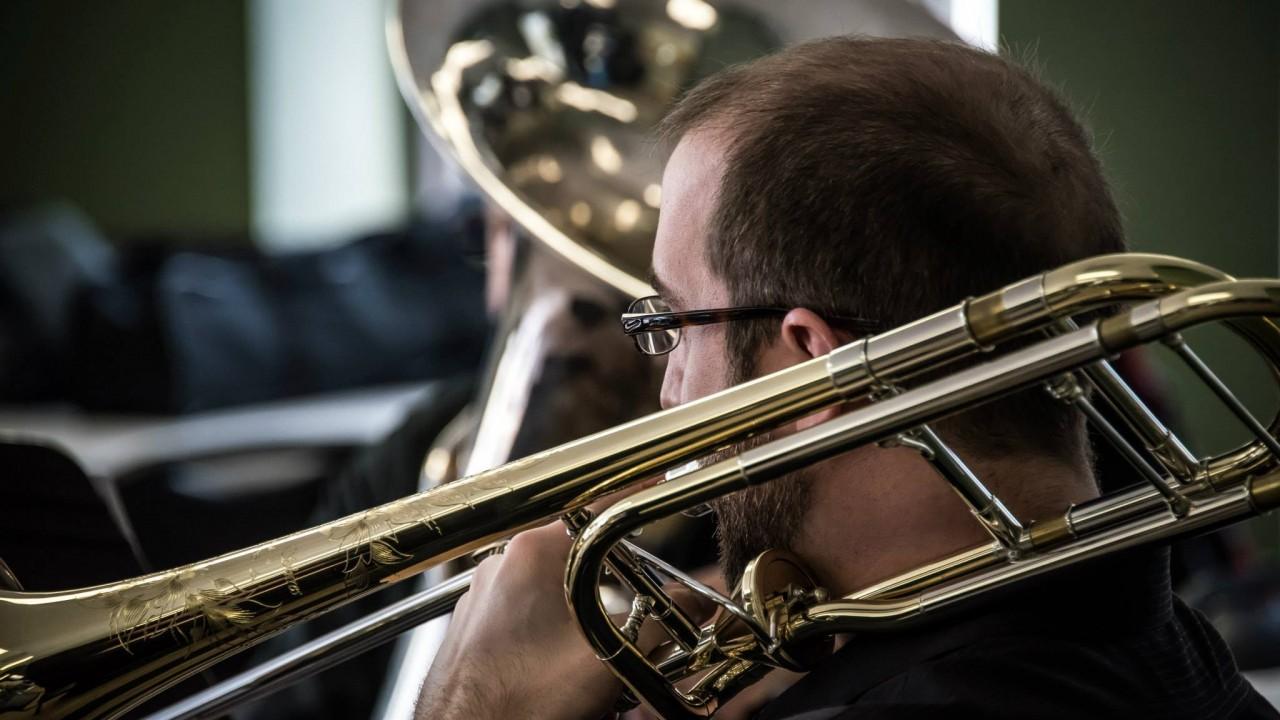 Nate Musch, trombone