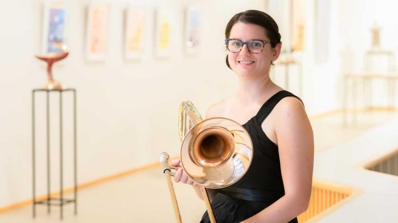 Hana Beloglavec, trombone