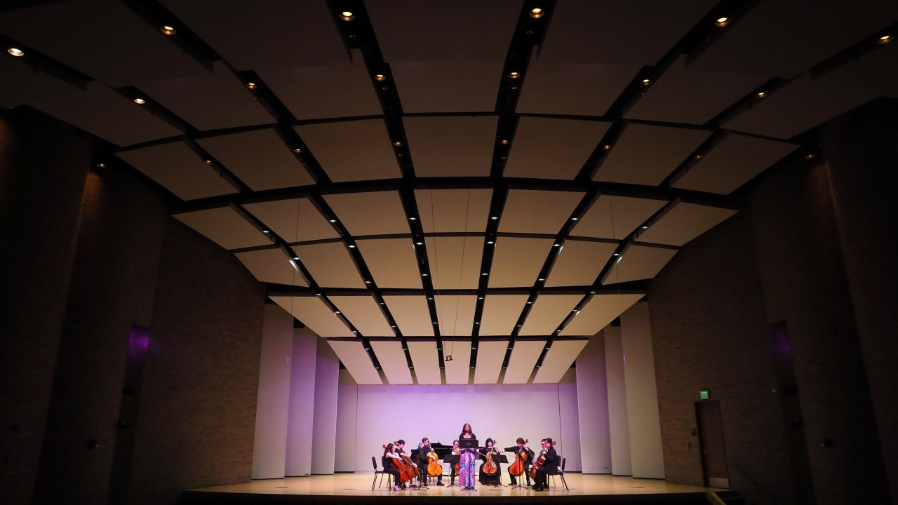 Rhea Olivacce in Recital Hall