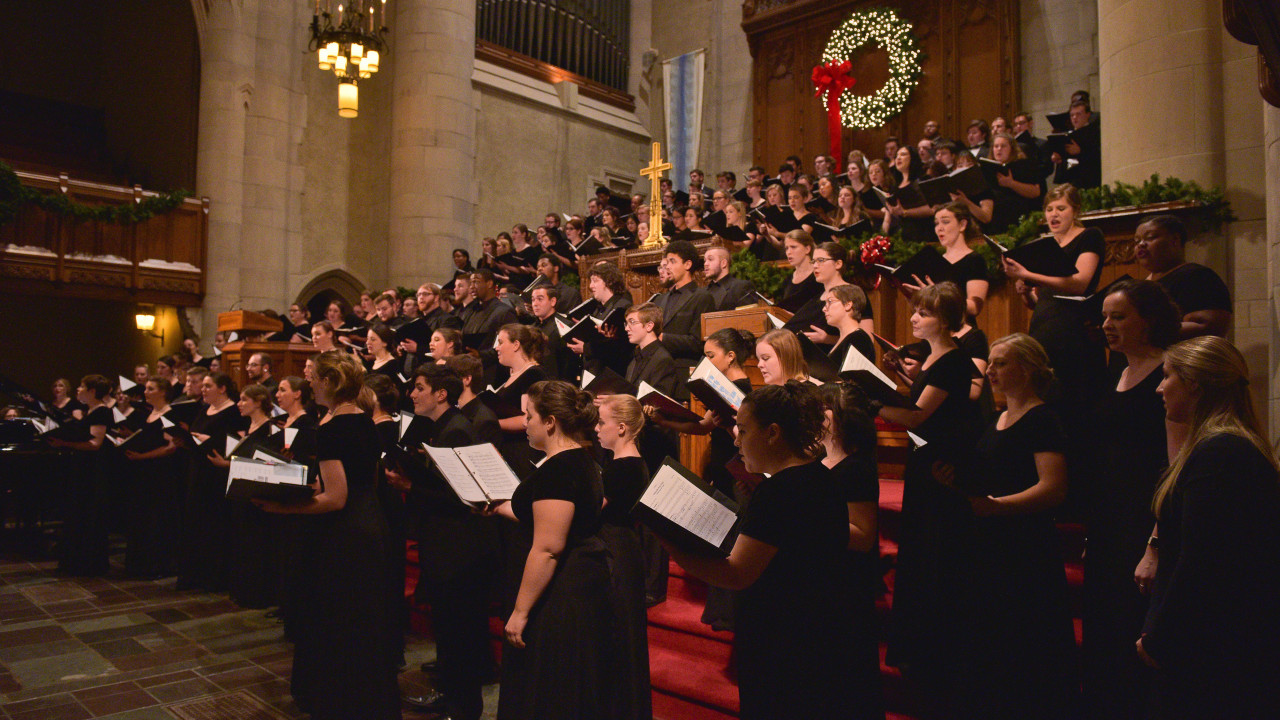 Choral Christmas Performance