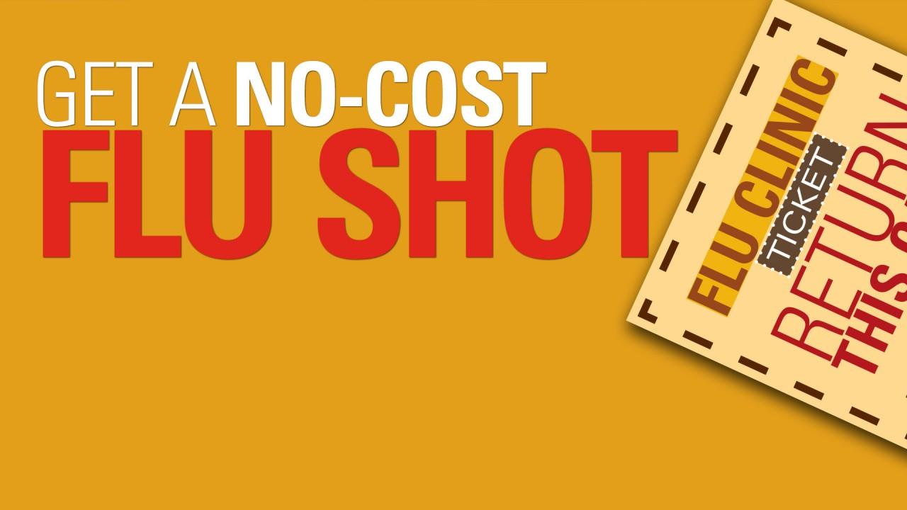 Get a no-cost flu shot
