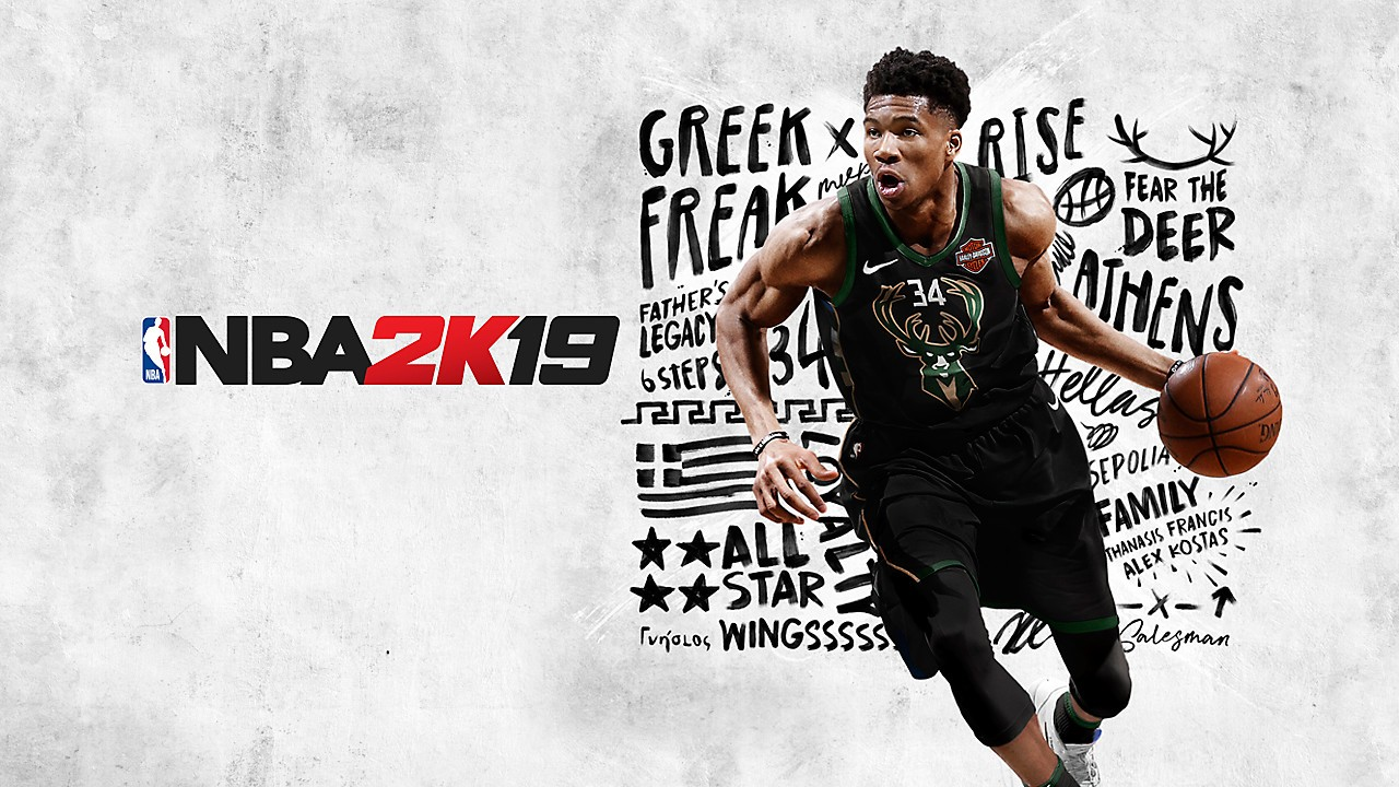NBA 2K19 art for the Xbox One