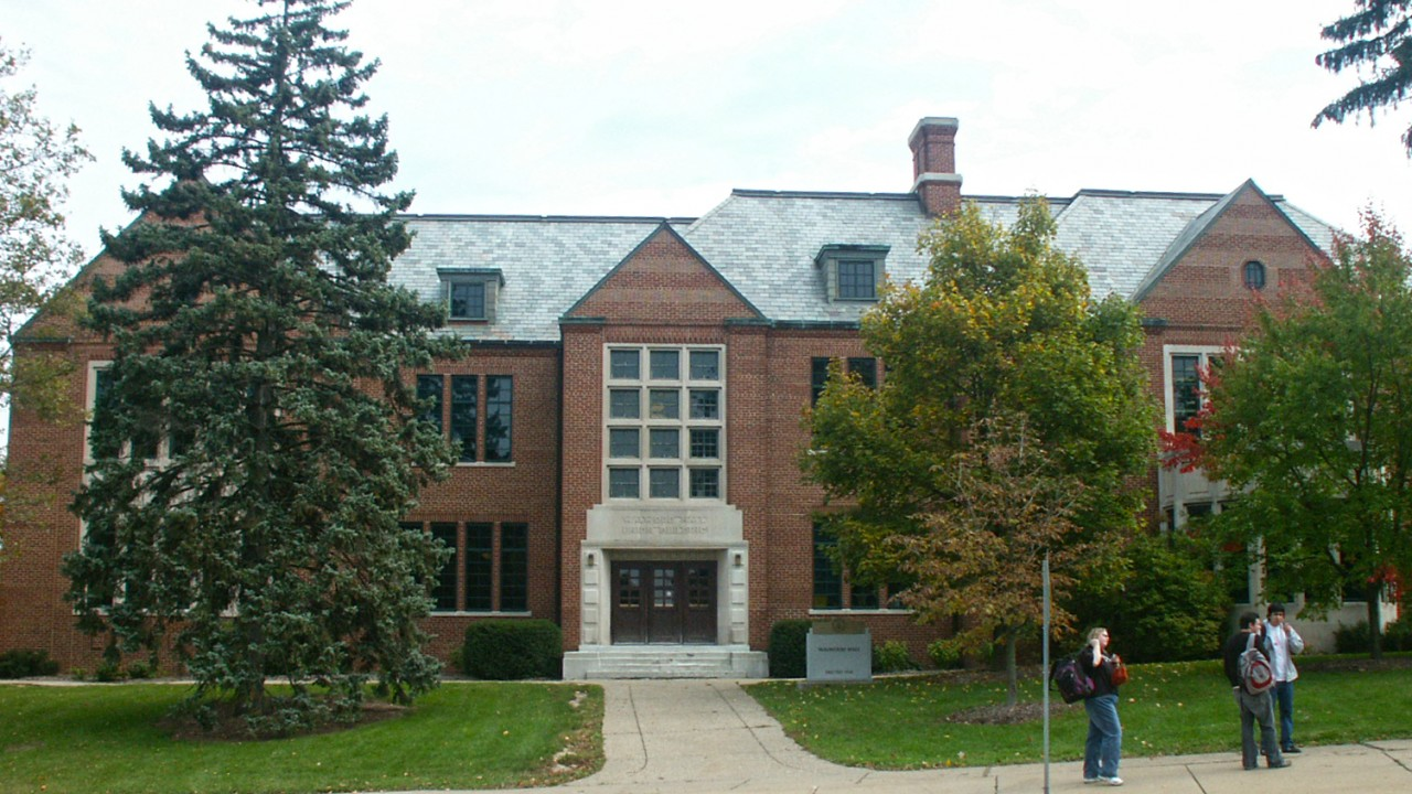 Walwood Hall in East Campus