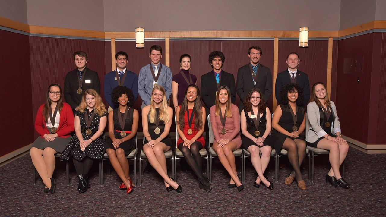 Senior Medallion Scholars from 2015