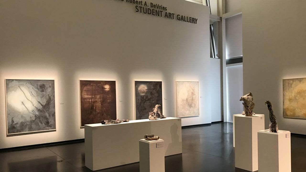 painting and ceramics exhibition