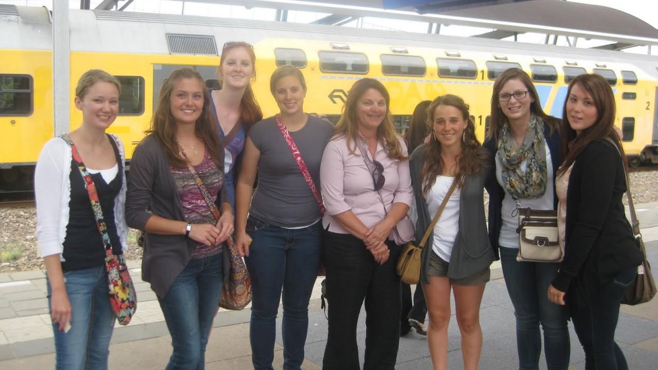 Students in Utrecht