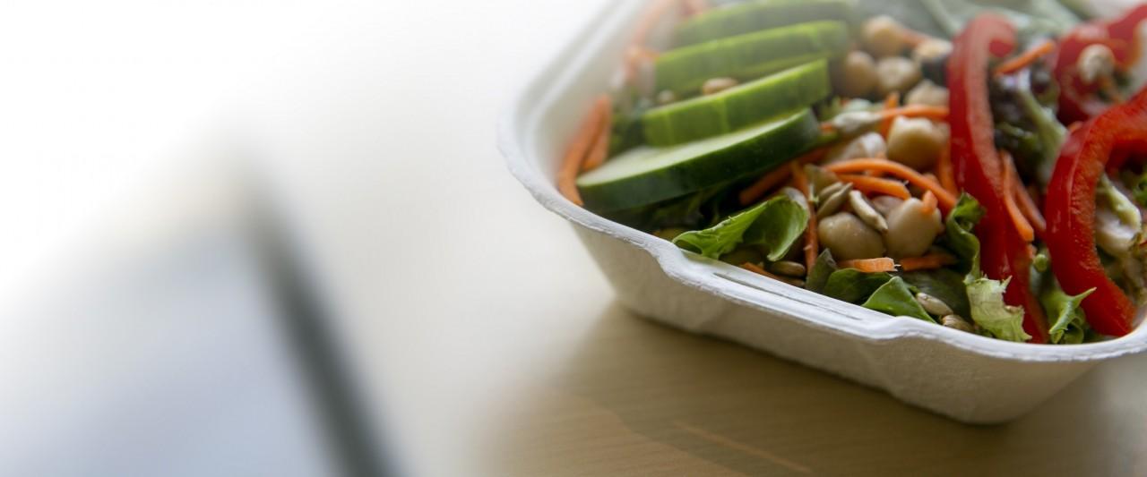 A salad from The Garden at Bella Vita