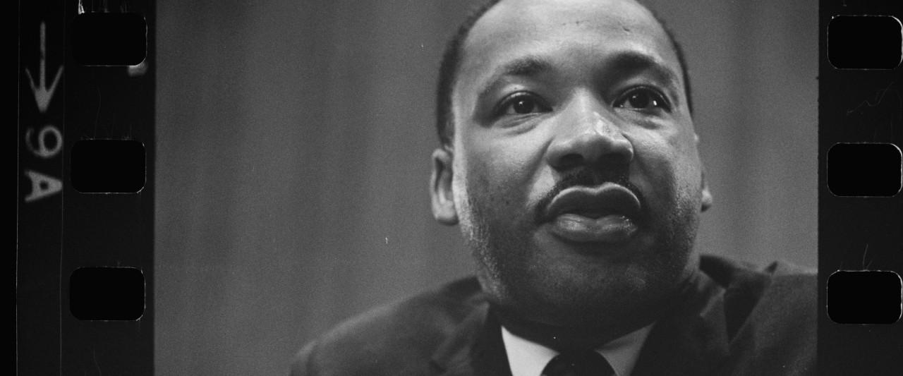 Reverend Doctor Martin Luther King Jr. Portrait