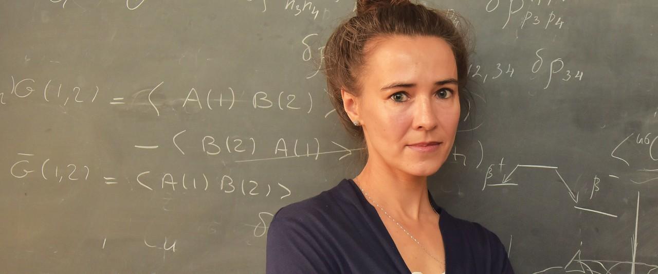 photo of Dr. Elena Litvinova