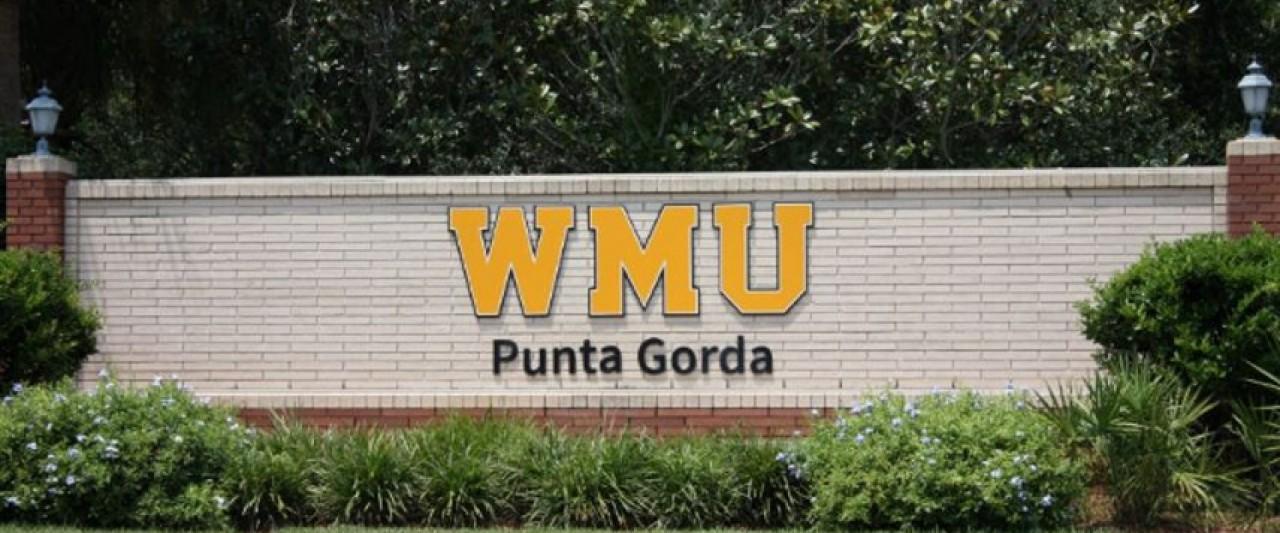photo of WMU Punta Gorda sign