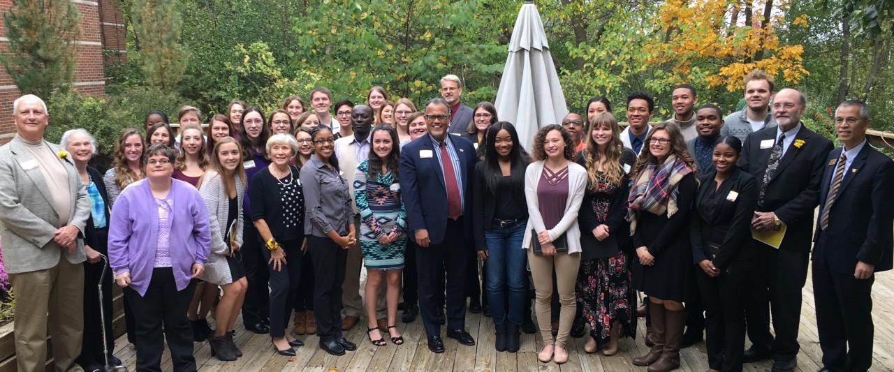 2017 scholarship recipients group photo
