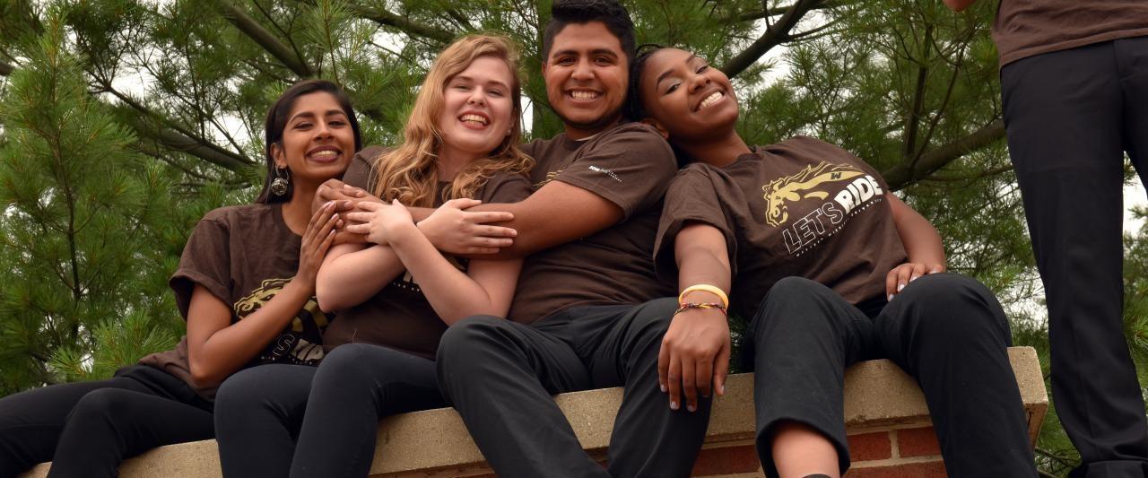 Student Leaders on WMU sign