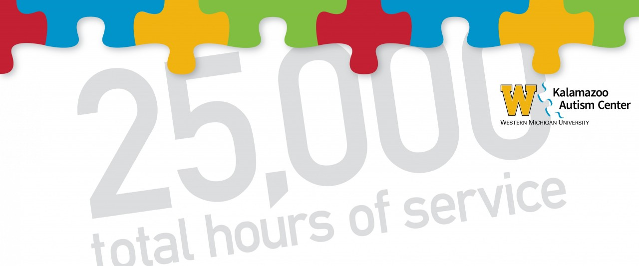 Kalamazoo Autism Center, Western Michigan University - 25,000 total hours of service