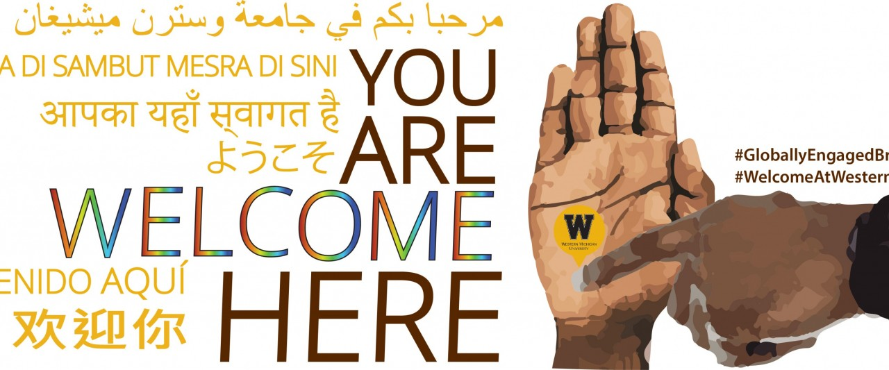 You are welcome here poster