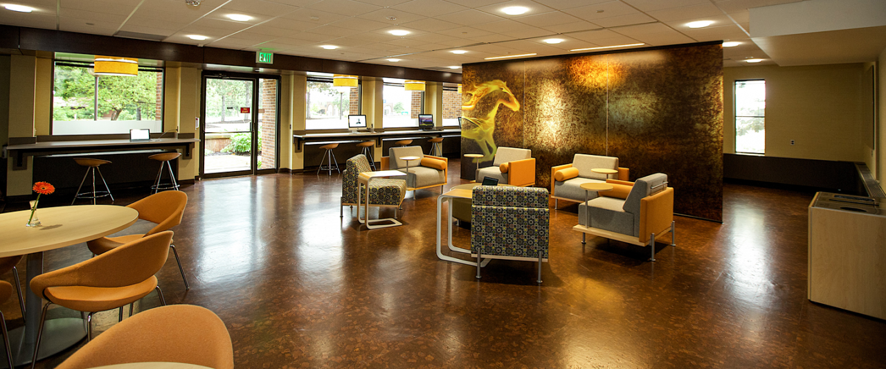 Photo of renovated space at the WMU-Grand Rapids Beltline location.