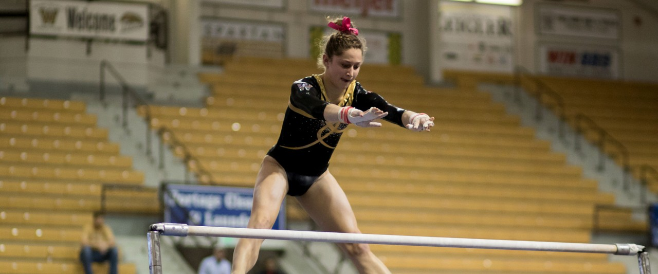 Photo of gymnast Kayla Weber.