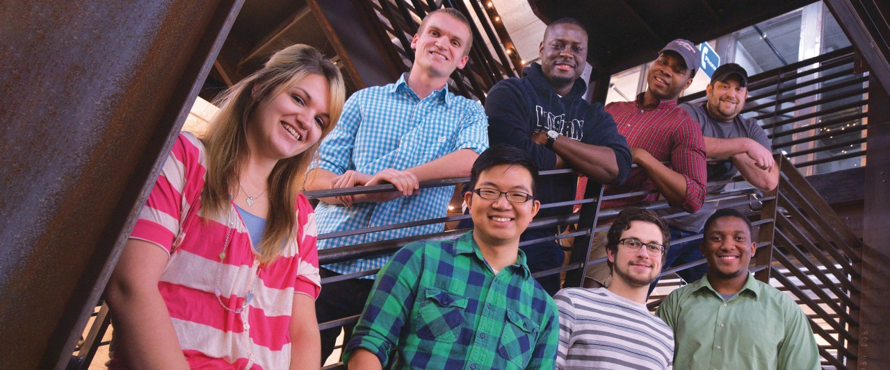 Photo of participants in WMU's Starting Gate program.