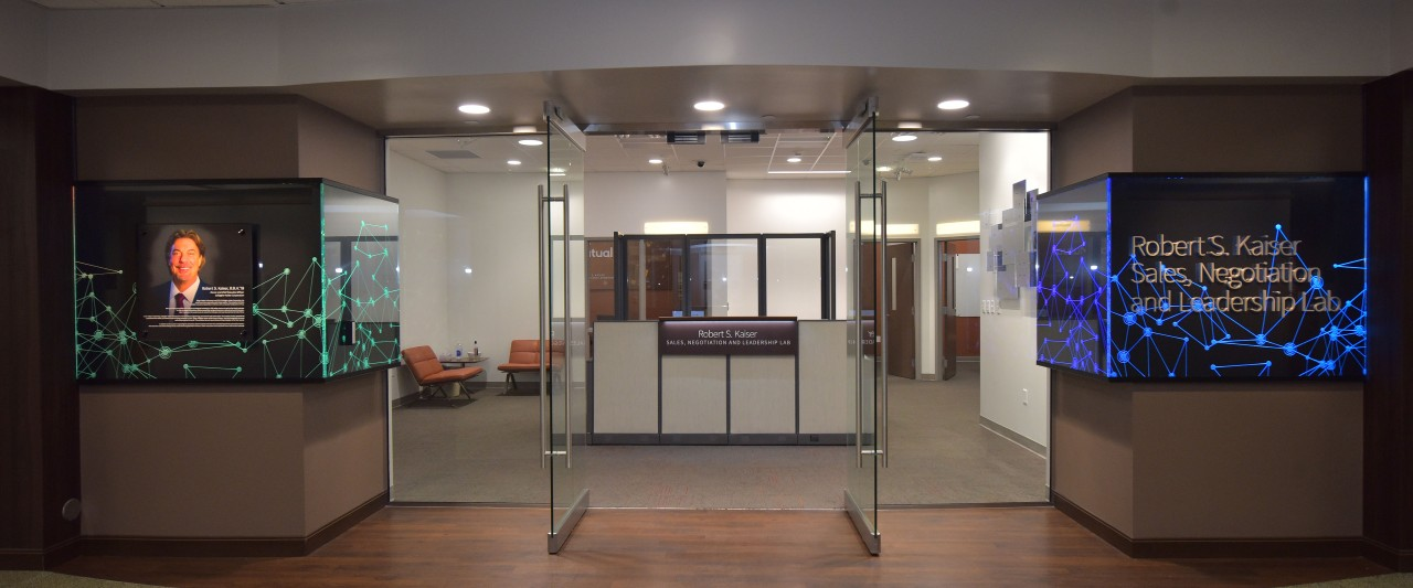 Photo of the exterior of the sales lab
