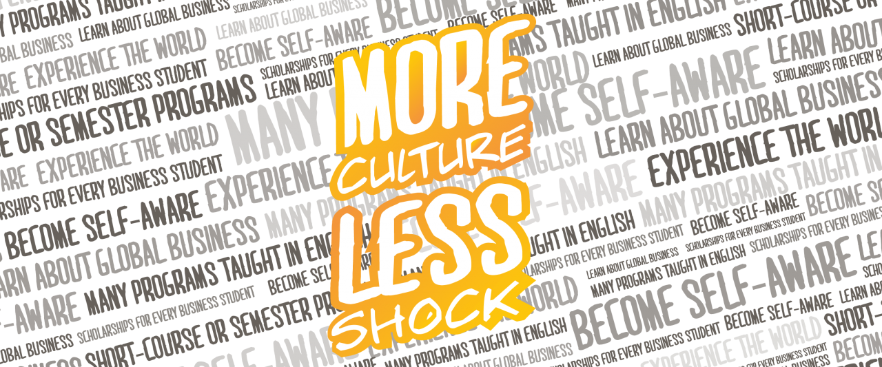More Culture Less Shock graphic