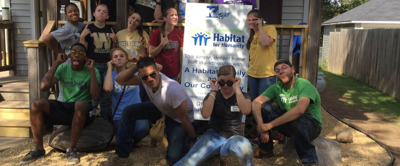 Habitat for Humanity students