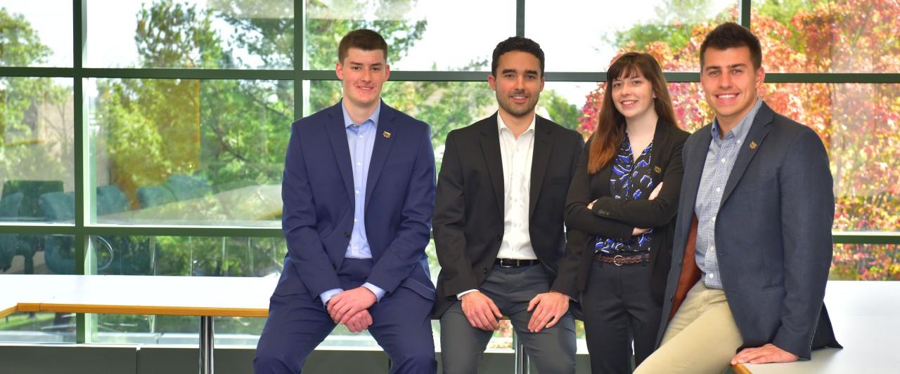 Four student team