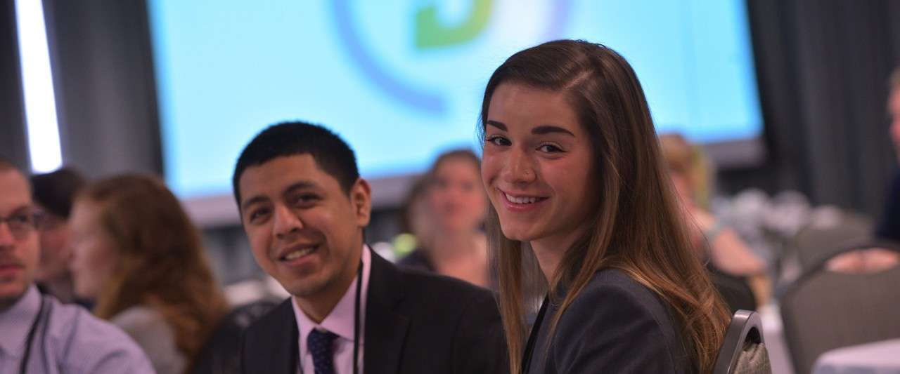 Students at 2016 conference