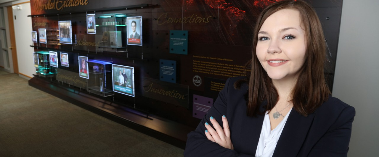 ISM student Rachel Larson