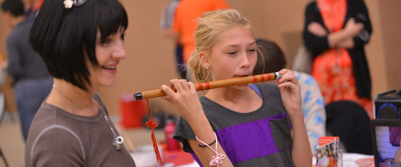 The China Festival is a campus and community celebration of Chinese food, games and culture.