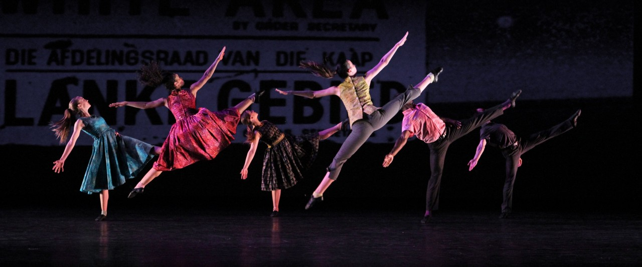 "photo of ""The Gettin'"" choreographed by Kyle Abraham"