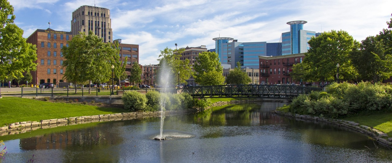 Kalamazoo is a beautiful mid-sized city in the Midwestern United States.