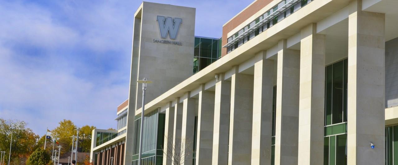 Sangren Hall at Western Michigan University