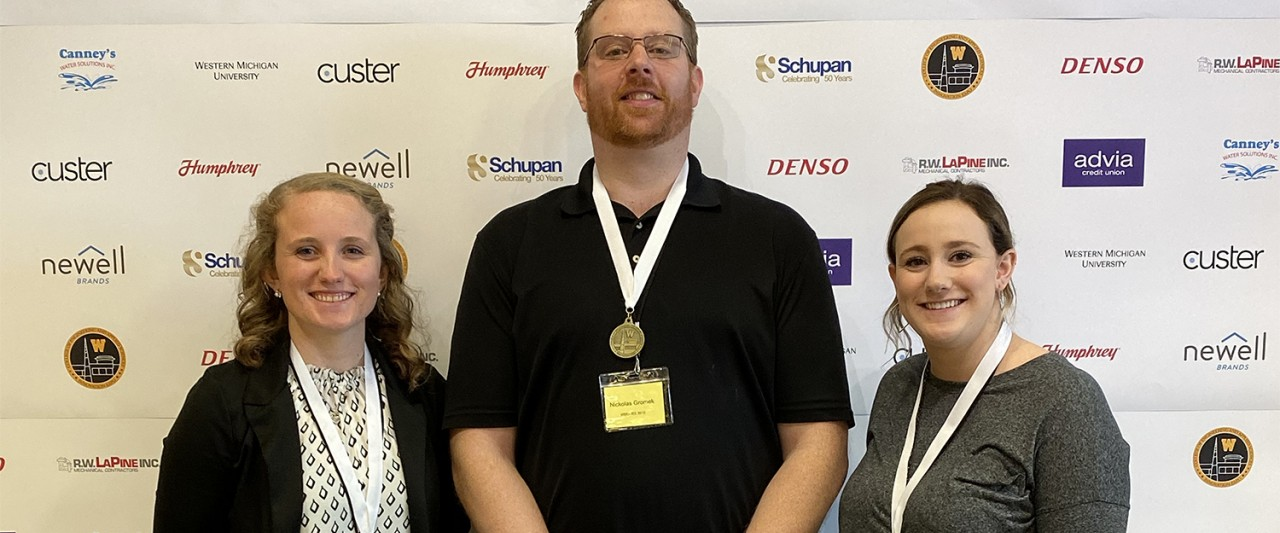 Innovation EXPO - IEE 3010 Second Place - Reusable Take-out – Nickolas Gromek, Sarah Hansen, Jen McKeiver