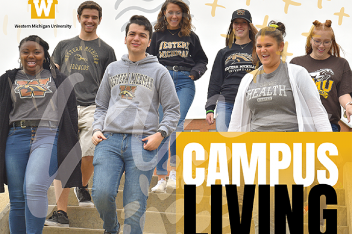 Campus Living Guide front cover