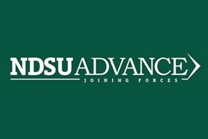 NDSU ADVANCE Joining Forces logo