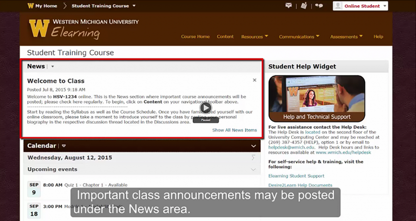 Elearning Basics Western Michigan University