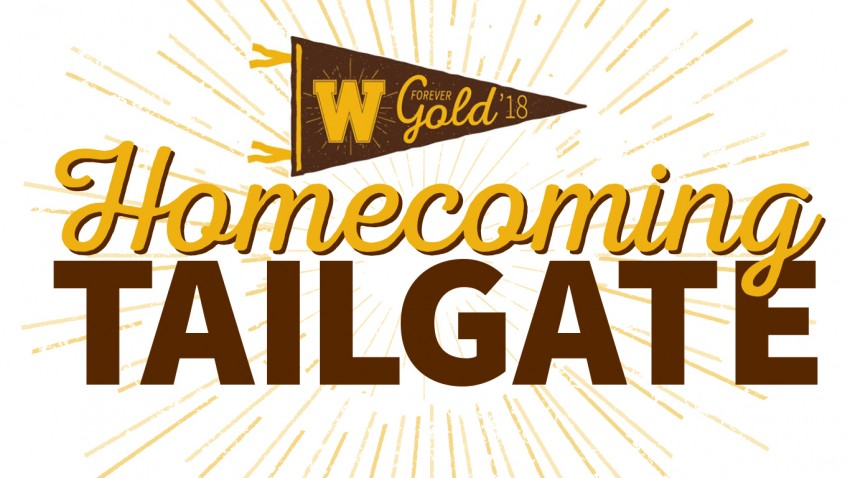 Homecoming Tailgate Luncheon Graphic