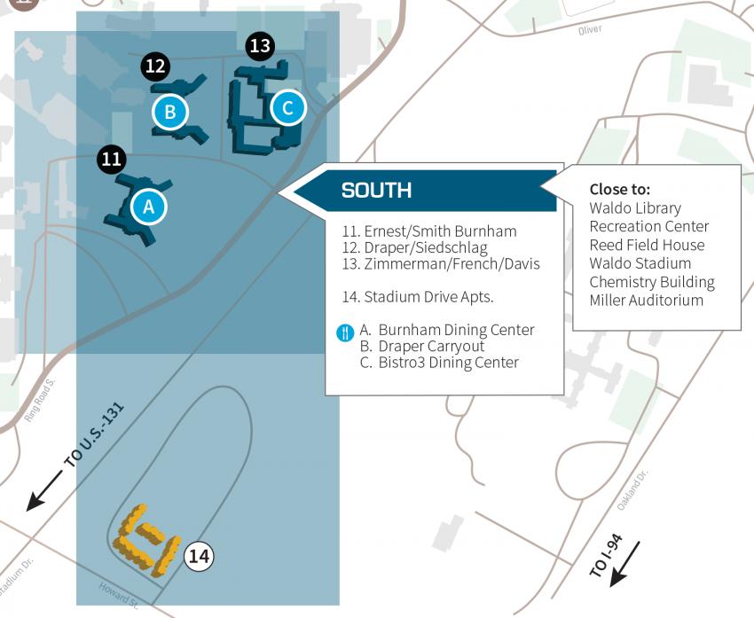 South Residential Neighborhood | Residence Life | Western