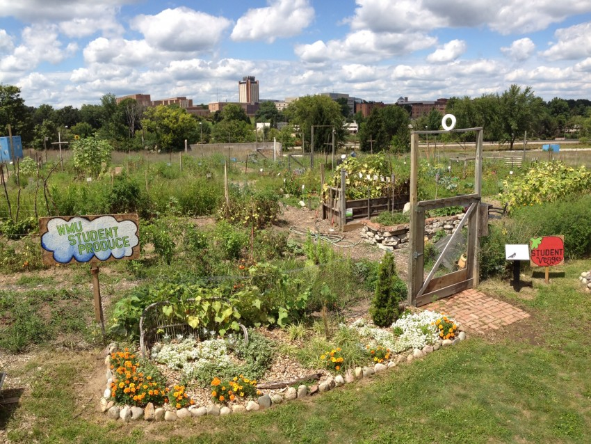 Community Garden Sustainability Western Michigan University